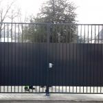 portail à barreaudage
