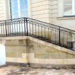 garde-corps escalier fer forgé