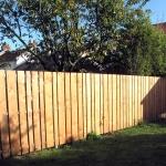 garde-corps/clôture remplissage bois