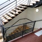 escalier marches bois