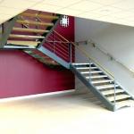 escalier 2/4 tournant