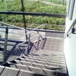 escalier 1/4 tournant marches carrelées